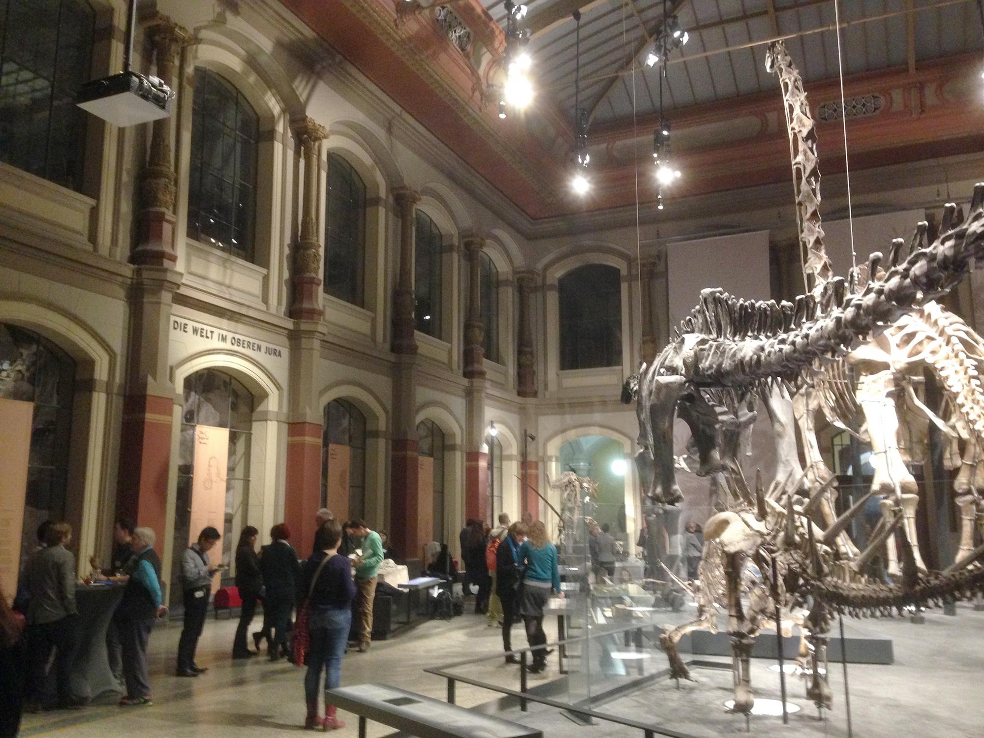 Der Dinosauriersaal im Museum für Naturkunde, Berlin ©K. Schwahlen 2016