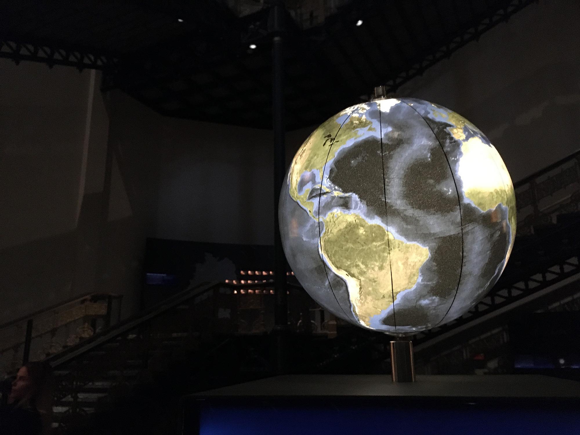 Kosmos-Abteilung im Museum für Naturkunde, Berlin ©K. Schwahlen 2019
